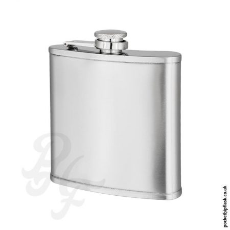6oz-Brushed-Stainless-Steel-Hip-Flask-with-Lip