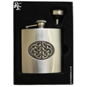 6oz-Celtic-Knot-Stainless-Steel-Hip-Flask