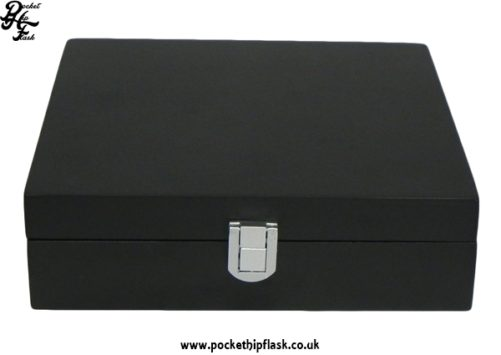 Black Wooden Box Gift Set