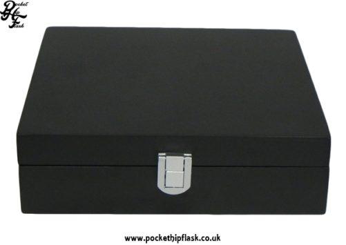 Black Wooden Box Gift Set