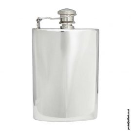 8oz-Plain-Shiny-Pewter-Hip-Flask-with-Captive-top