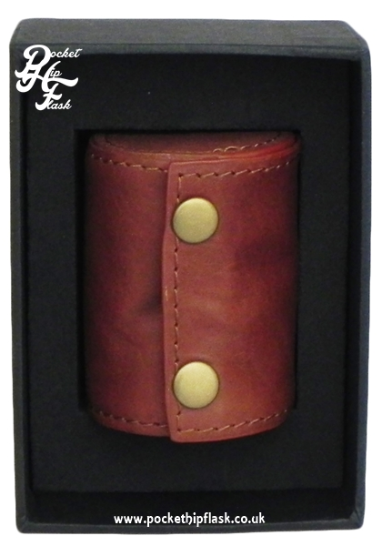 Spanish Leather Case with 4 Cups