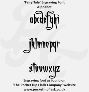 Fairy Tale Engraving Font