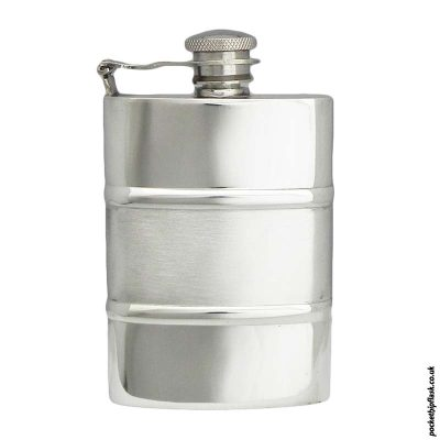 Satin-Band-Pewter-Hip-Flask-with-Captive-Top