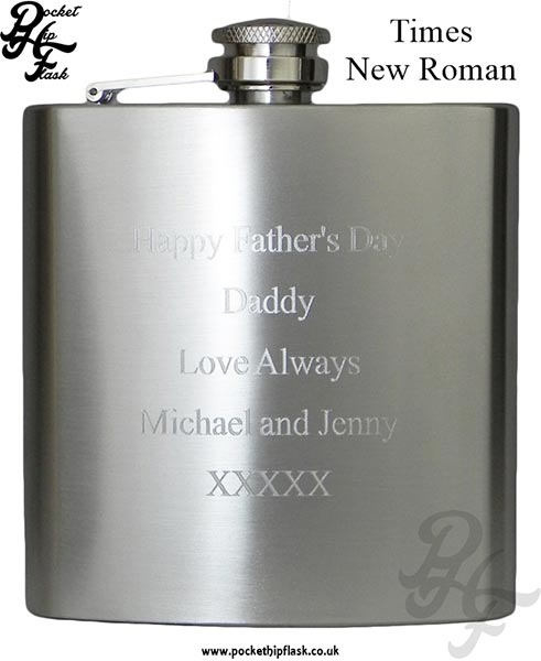 Times-New-Roman-Hip-Flask-Engraving-Example