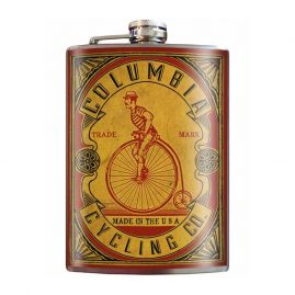 Columbia-Cycling-8oz-Stainless-Steel-Hip-Flask