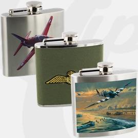 Official Royal Air Force Hip Flasks