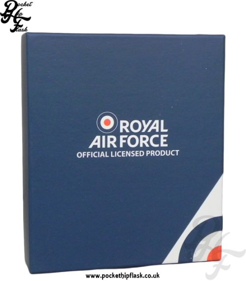 Royal Air Force Hip Flask Gift Box