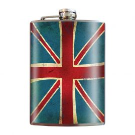 Union-Jack-8oz-Stainless-Steel-Hip-Flasks