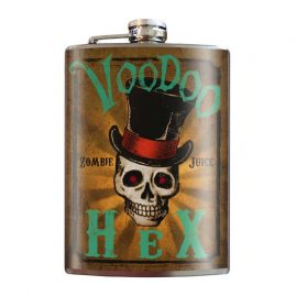 Voodoo-Hex-8oz-Stainless-Steel-Hip-Flask
