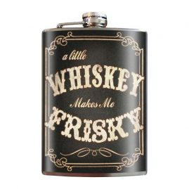 Whiskey-Frisky-8oz-Stainless-Steel-Hip-Flasks