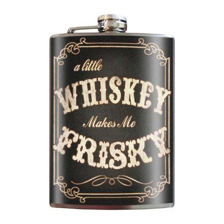 Whiskey-Frisky-8oz-Stainless-Steel-Hip-Flasks