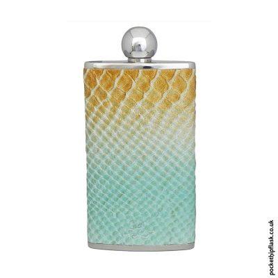 4oz-Oval-Hip-Flask-Luxury-Leather-Cobra-Pattern
