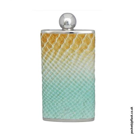 4oz-Oval-Hip-Flask-Luxury-Leather-Cobra-Pattern