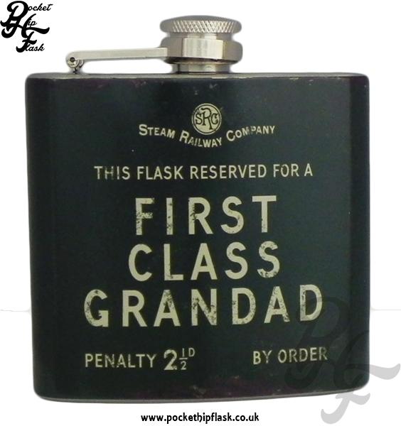 5oz First Class Grandad Hip Flask