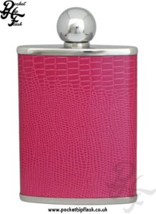 Luxury Leather Ladies Hip Flasks