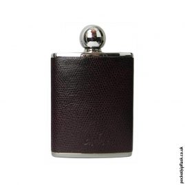 3oz-Purple-Oval-Shaped-Luxury-Leather-Ladies-Hip-Flask