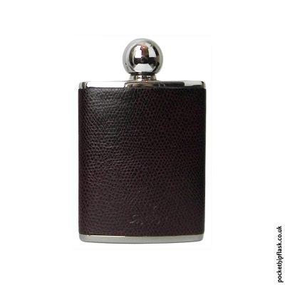 3oz-Purple-Oval-Shaped-Luxury-Leather-Ladies-Hip-Flask