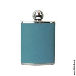 3oz-Turquoise-Oval-Shaped-Luxury-Leather-Ladies-Hip-Flask