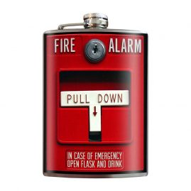 Fire-Alarm-8oz-Stainless-Steel-Hip-Flasks