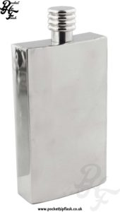 4oz Stainless Steel Rectangle Hip Flask