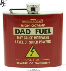 5oz Stainless Steel Dad Fuel Hip Flask