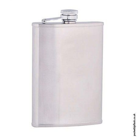 8oz-Brushed-Stainless-Steel-Hip-Flask