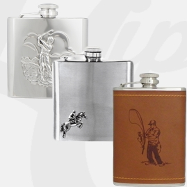 Stainless Steel Sports Hip Flasks
