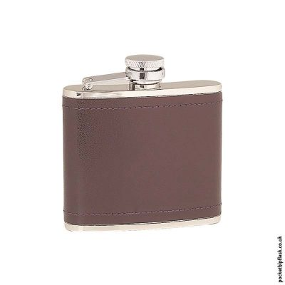 4oz-Stainless-Steel-Hip-Flask-Wrapped-in-Burgundy-Leather