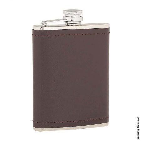 6oz-Stainless-Steel-Hip-Flask-Wrapped-in-Burgundy-Leather