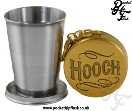 Collapsible shot glass, Travel Cup, Hooch