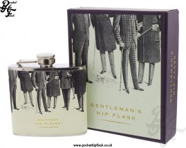 5oz Stainless Steel Hip Flask - Snifter, Yes Please
