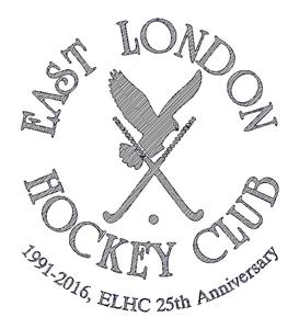 East London Hockey Clud engraving logo