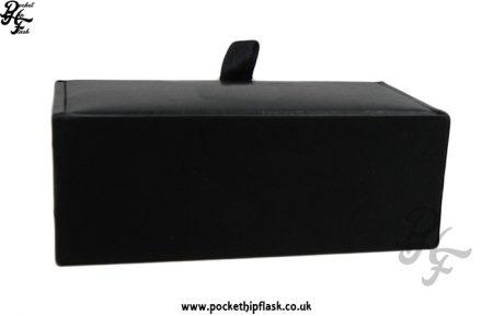 Black Faux Leather Cufflink Presentation Box