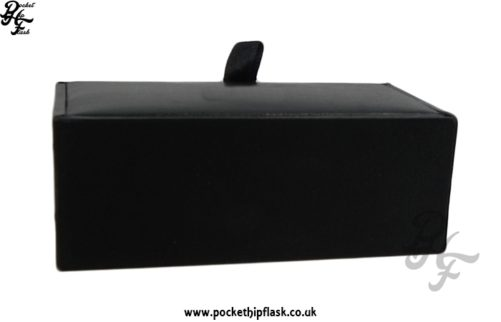 Black Faux Leather Cufflink Presentation Box