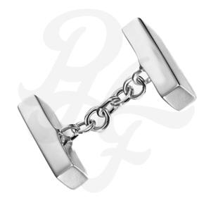 Types of Cufflinks, Chain Link Cufflink