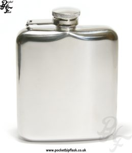Stainless Steel Cushion Hip Flask