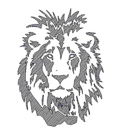 Lion-logo-engraving