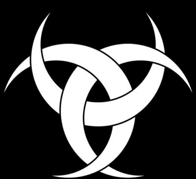 Tribal Logo Image for Hip Flask Engraving 006