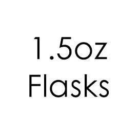 1.5oz hip Flasks