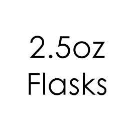 2.5oz Hip Flasks