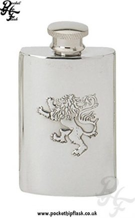 2oz-Lion-Rampart-Pewter-Hip-Flask