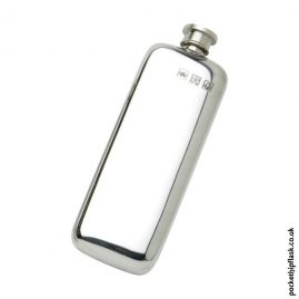 3oz-Plain-Slim-Line-Pewter-Boot-Hip-Flask