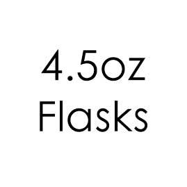 4.5oz Hip Flasks