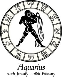 Hip-Flask-Zodiac-Star-Sign-Image-Logo-Aquarius-2