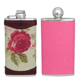 Hip Flasks for The Ladies - Ladies-Luxury-Leather-Hip-Flasks