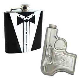 Novelty Stainless Steel Hip Flasks