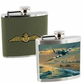 Official Royal Air Force Hip Flasks