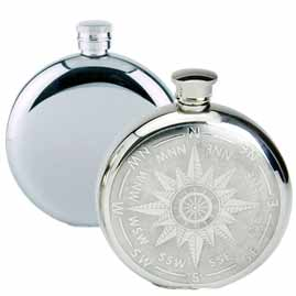 Round Hip Flasks