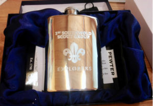 Hip Flasks Engraved